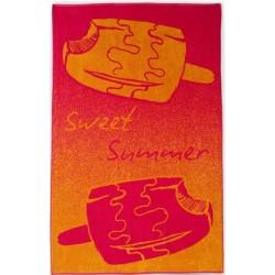 Ręcznik Plażowy Bambino Różowy ZWOLTEX rozmiar 100x160 cm