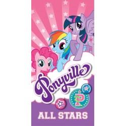 Ręcznik Kucyki Pony 4610 DETEXPOL rozmiar 70x140 cm