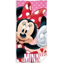 Ręcznik Myszka Minnie 1130 CARBOTEX rozmiar 70x140 cm