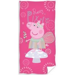 Ręcznik Świnka Peppa 1079 CARBOTEX rozmiar 70x140 cm